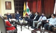 حزب الله بصيدا يستقبل وفدا من الوطني الحر الاوضاع في لبنان والمنطقة