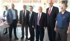 """محامو النبطية التقوا مرشح """"الوطني الحر"""" لمركز نقيب المحامين في بيروت"""