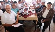 البعريني دعا لإنجاح ودعم الخطة النهائية لادارة النفايات الصلبة في جرد القيطع