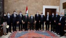 الرئيس عون: نقدّر للعراق موافقته على طلب لبنان تزويده بالنفط الخام