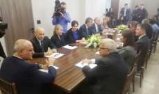 خليل اجتمع مع عدد من السفراء الأجانب وقدم تصورا حول المشاريع الإصلاحية التي يُعمل عليها