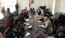 محفوظ: للاعلام دور أساسي في تصويب الاداء السياسي