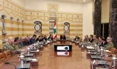 المجلس الأعلى للدفاع: سيتم توقيف جميع المطلوبين حفاظا على هيبة الدولة وحقنا للدماء