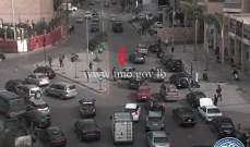 التحكم المروري: تعطل مركبة محلة الكولا وأُخرى على بولفار سن الفيل
