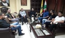 وفد من مستشفى صيدا الحكومي عرض على ضاهر خطة متكاملة للنهوض بالمستشفى