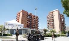 الجيش الإيطالي يفض مواجهات في بلدة ساحلية بعد تفش لفيروس كورونا