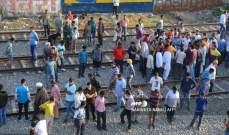 ارتفاع حصيلة حادث القطار في الهند الى نحو 60 قتيلا على الأقل