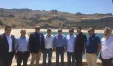 جان جبران جال على منطقة المتن الأعلى مفتتحا مشاريع جديدة لتغذية المناطق والقرى بالمياه