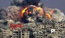مقتل 8 فلسطينيين بقصف إسرائيلي استهدف منزلا بمخيم الشاطئ