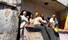 ابو عرب جال في عين الحلوة متفقدا الكتائب والوحدات العسكرية