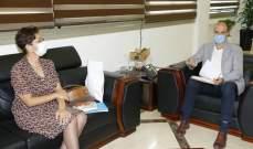 حسن بحث وممثلة اليونيسيف في دعم طلب لبنان للانضمام إلى GAVI