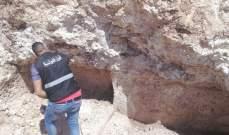 العثور على عظام بشرية في مغارة في كفرشوبا