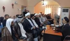 فضل الله عاد من العراق بعد زيارة التقى خلالها عددا من الفاعليات الدينية