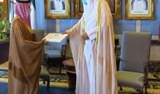 وزير الخارجية السعودية سلّم ولي عهد الكويت رسالة من الملك سلمان