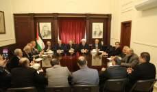 دبور: للعمل على توحيد الموقف العربي إلى جانب فلسطين
