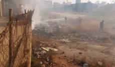 الدفاع المدني: إخماد حرائق أعشاب في مرياطا وبرج حمود والراسي وضهور زحلة ومغدوشة