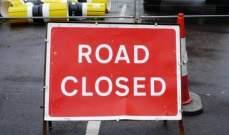 تدابير سير على الطريق عند تقاطع جسر الباشا- الحازمية مساء اليوم بسبب تمديد كابلات