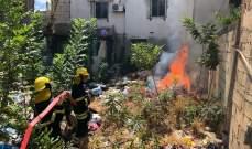 مناورة حية للدفاع المدني الفلسطيني شملت أحياء عدة من مخيم عين الحلوة