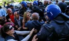شرطة أذربيجان اعتقلت 3 من قادة المعارضة و100 ناشط قبل احتجاج على نتائج الإنتخابات