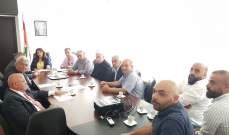 وزيرة المهجرين استقبلت وفدا من أهالي كفرسلوان لإتمام المصالحة بين عائلتين