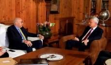 فرنجية: الحل بملف الكهرباء يبدأ بقرار سياسي