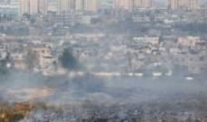 انفجارات في غلاف غزة بعد إطلاق بالونات من القطاع