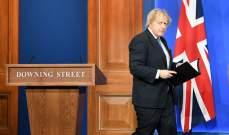 جونسون أعرب عن قلقه من التحركات الروسية والأنشطة العسكرية في شبه جزيرة القرم