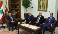 الرئيس عون استقبل هيئة ديوان المحاسبة برئاسة القاضي احمد حمدان