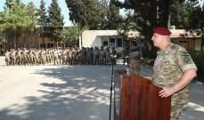 قائد الجيش: لا يوجد معابر غير شرعية إنما بعض الثغرات التي نعمل على إغلاقها