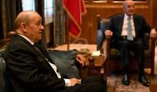 الشرق الاوسط: لودريان تحدث مطولاً مع بري الذي تعول باريس على دوره لإخراج التأليف من التأزم الذي يحاصره