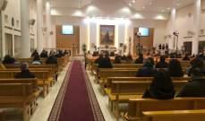 قداديس احتفالية وصلوات بالكنائس بقيامة السيد المسيح بالبقاع وبعلبك
