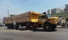 التحكم المروري: تعطل شاحنة على طلعة يسوع الملك- ذوق مصبح