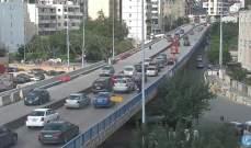 التحكم المروري: تصادم على طريق ضهر البيدر- المديرج