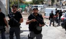 الأمن الإسرائيلي اعتقل 3 عناصر من حماس كانوا يخططون لخطف اسرائيلي