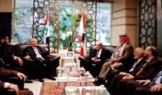 اللقاء النيابي التشاوري استقبل وفد حركة حماس البرلماني