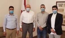 """سلام اطلع من """"تجمع عكار الوطني"""" على أوضاع المنطقة ونشاطات التجمع"""