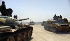 النشرة: الجيش السوري يخوض اشتباكات عنيفة مع المجموعات المسلحة في حرستا