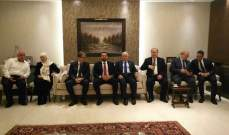 سعد الحريري زار مدينة صيدا وقدم التعازي بوفاة هيفاء النقيب