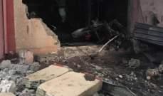 قتيل نتيجة حريق في معمل في قب الياس