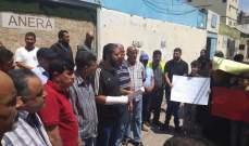 النشرة: اعتصام للفلسطينيين النازحين من سوريا في عين الحلوة للمطالبة بحقوقهم