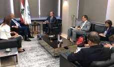 خليل التقى وفدا من البنك الدولي وسمى 4 مساحين للمباشرة بترسيم الحدود بين بقاعصفرين وبشري