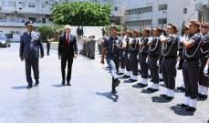 عثمان التقى الامين العام للانتربول وعرض معه سبل تعزيز المهام الشرطية لمكافحة الإرهاب