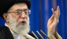 خامنئي: تكلفة العدوان على بلادنا ستكون مرتفعة والإيرانيون قادرون على مواجهة الأعداء