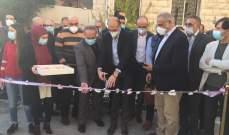 وزير الصحة افتتح اقساما جديدة لزيادة اسرة كورونا بمستشفى بعلبك الحكومي