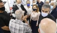 حسن وأوهانيان زارا محمد عطوي في مستشفى المقاصد: نحن بجانبه ولن نتركه