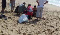 إنقاذ شخصين من الغرق في بحر صيدا