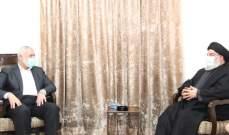 نصرالله التقى هنية: التاكيد على متانة العلاقة بين حزب الله وحماس