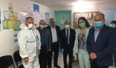 فرق وزارة الصحة واصلت حملة فحوص ال PCR العشوائية في المناطق