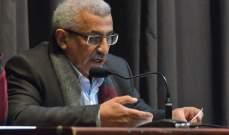 أسامة سعد يبحث مشاكل مستشفى صيدا الحكومي مع وفد من لجنة موظفي