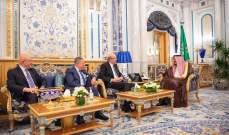 السنيورة وميقاتي وسلام: الملك سلمان أكد حرص بلاده على صيانة اتفاق الطائف